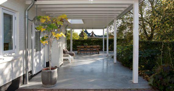 beton terras design buiten