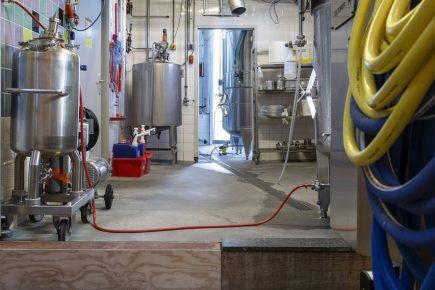 Bierbrouwerijvloer in Utrecht