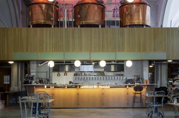 Bierbrouwerijvloer