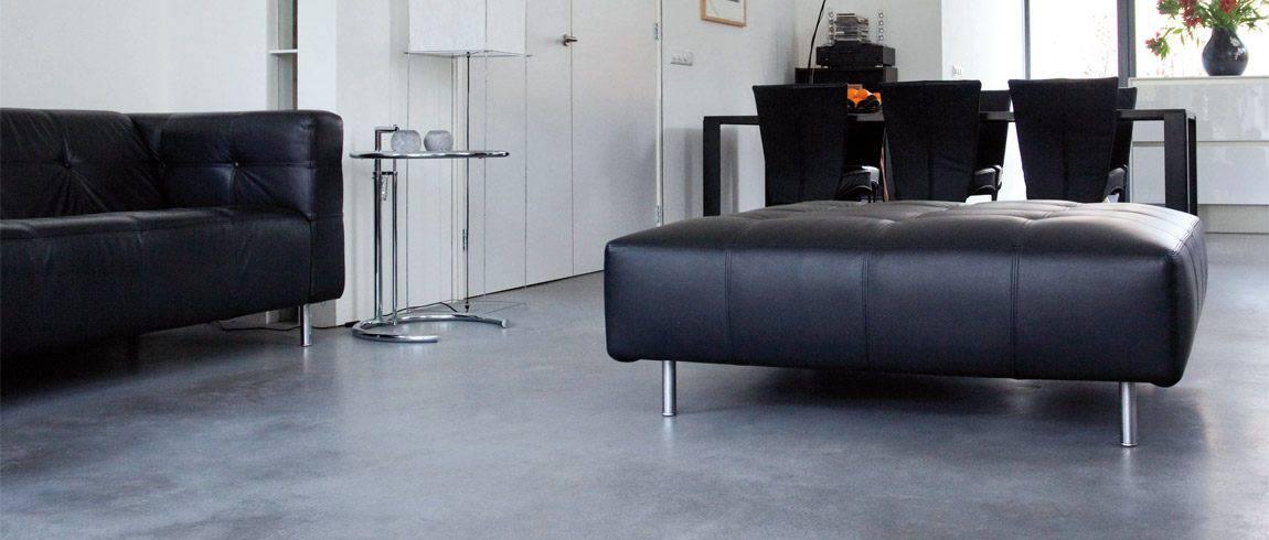Moderne vloeren van beton willem designvloeren for Interieur vloeren