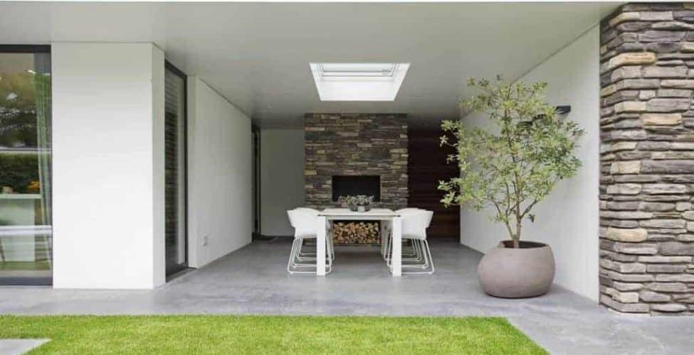 beton terras prijs per m², terras van beton
