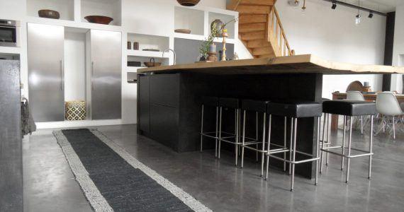 Design betonvloeren, design betonvloer