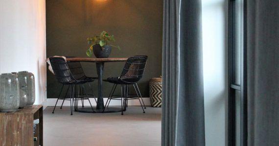 beton ciré vloer in huis