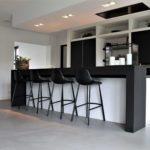 betonlook vloer in de keuken, betonlook vloer keuken, namaakbeton in de keuken