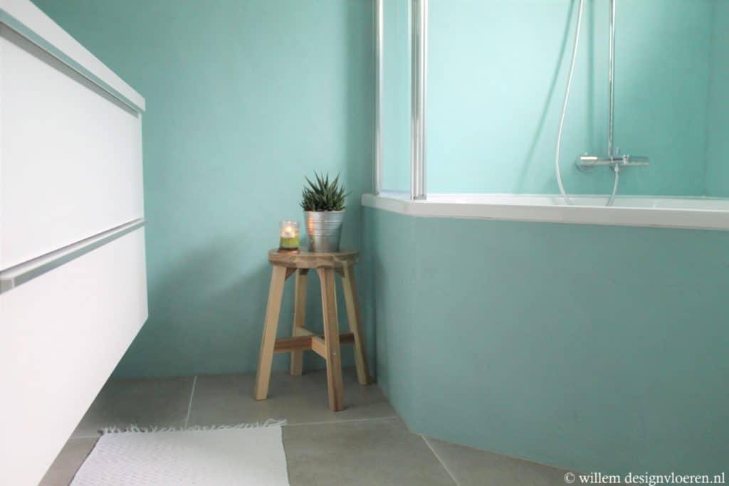 Willem designvloeren binnenkijker beton ciré wanden in opheusden
