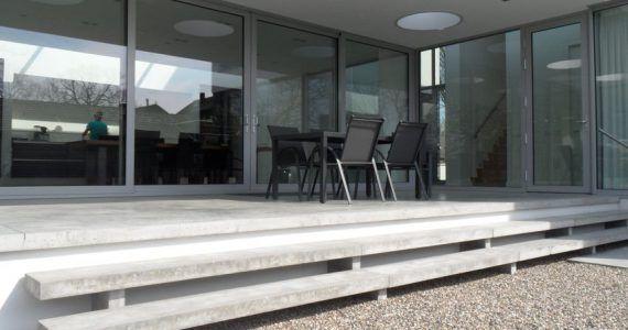 betonnen terras, beton terras, beton terras design, betonnen terrasvloer