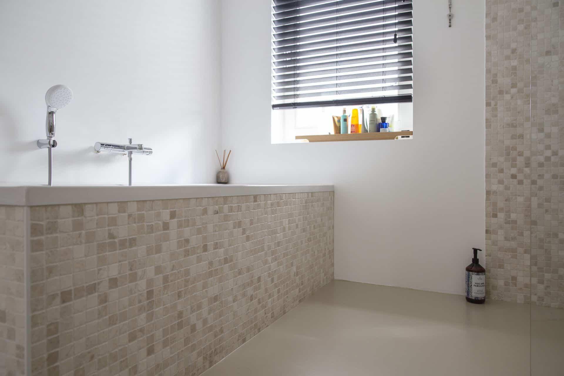 gietvloer badkamer pu, pu gietvloer