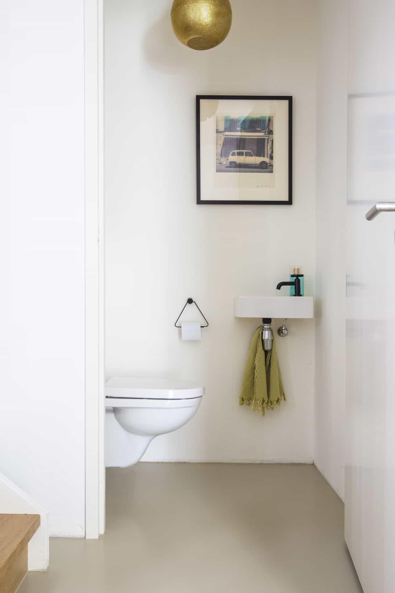 gietvloer wc, gietvloer pu, pu gietvloer toilet
