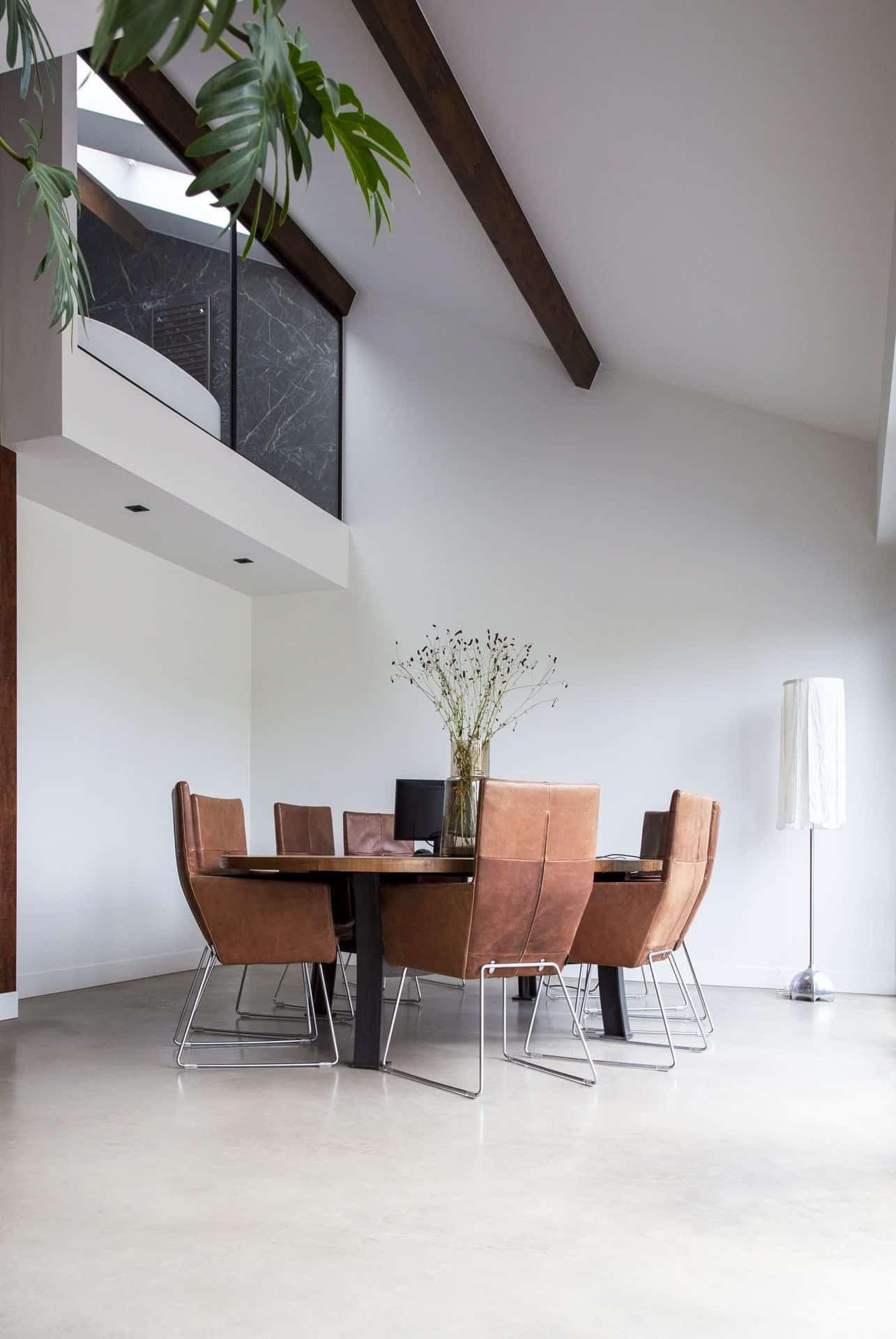 betonnen vloeren, gevlinderd beton design, design betonvloer