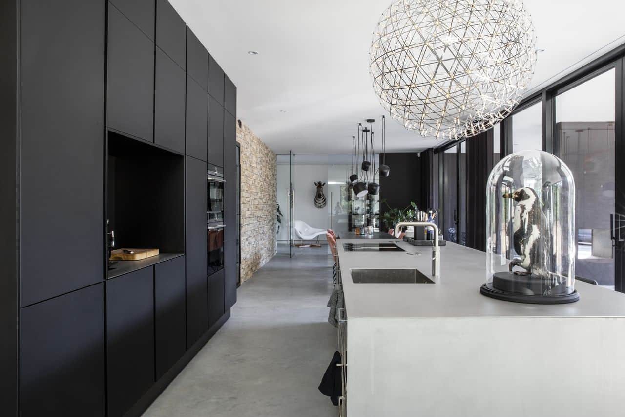 betonvloer, woonbeton, betonnen vloer, gevlinderde betonvloer