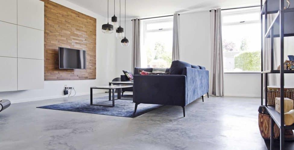 Betonvloer in huis
