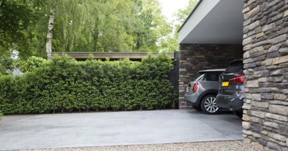 betonvloer buiten prijs, betonnen oprit, oprit van beton Willem Design Vloeren
