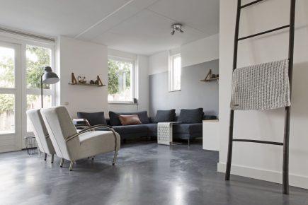 Gevlinderde woonbeton vloer in Culemborg