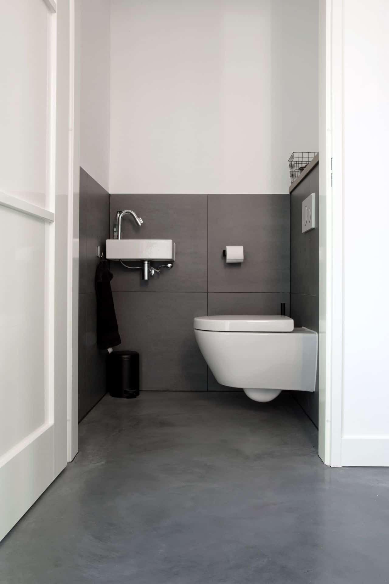 toilet betonvloer