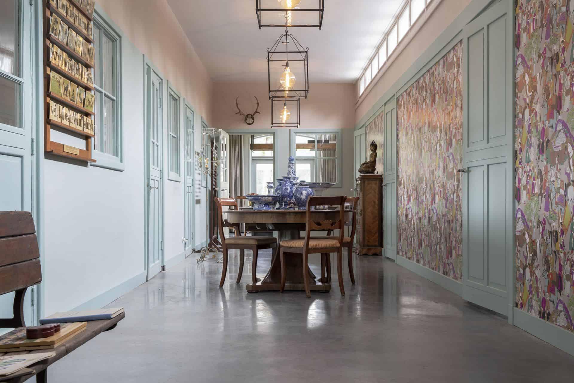 gevlinderde betonvloer, woonbeton vloer