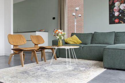 Gevlinderde woonbeton vloer in Almere