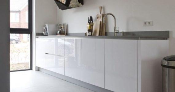 keukenvloer betonlook, betonlookvloer keuken