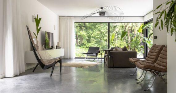 betonvloer woonkamer, woonkamer inspiratie, vloeren, betonvloeren