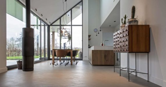beton ciré prijzen, beton ciré vloer kosten, onderhoud beton ciré