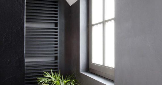 badkamer muren met beton ciré