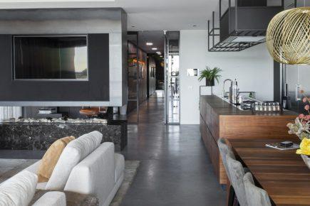Gevlinderde woonbeton vloer in Warmond