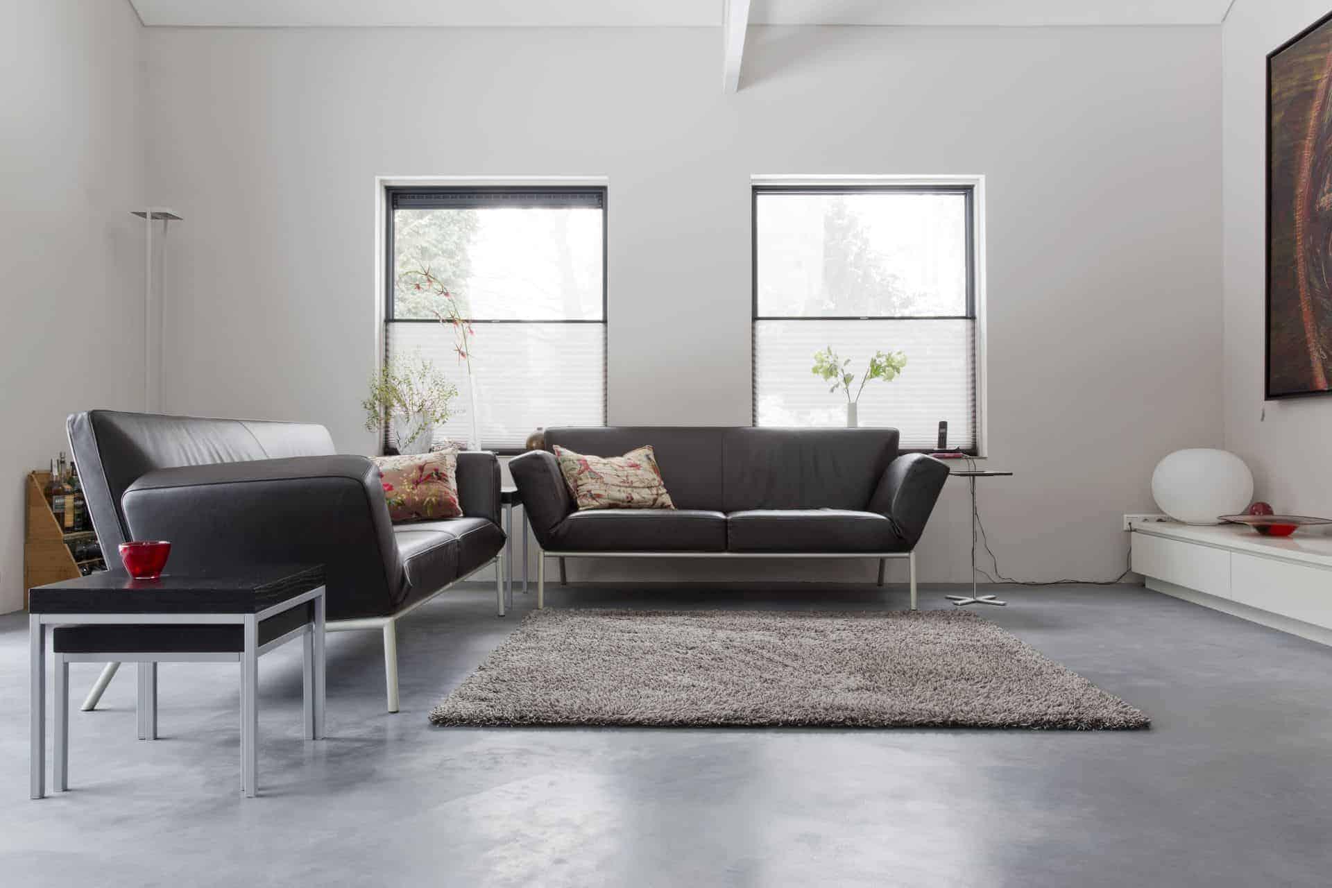 4x Een Beton Of Betonlook Vloer In Je Woonkamer Willem Designvloeren