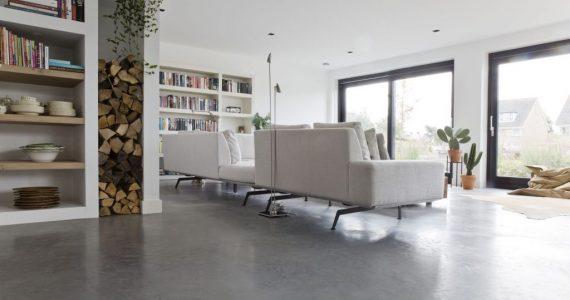 gepolierd beton onderhoud, onderhoud gepolierde betonvloer