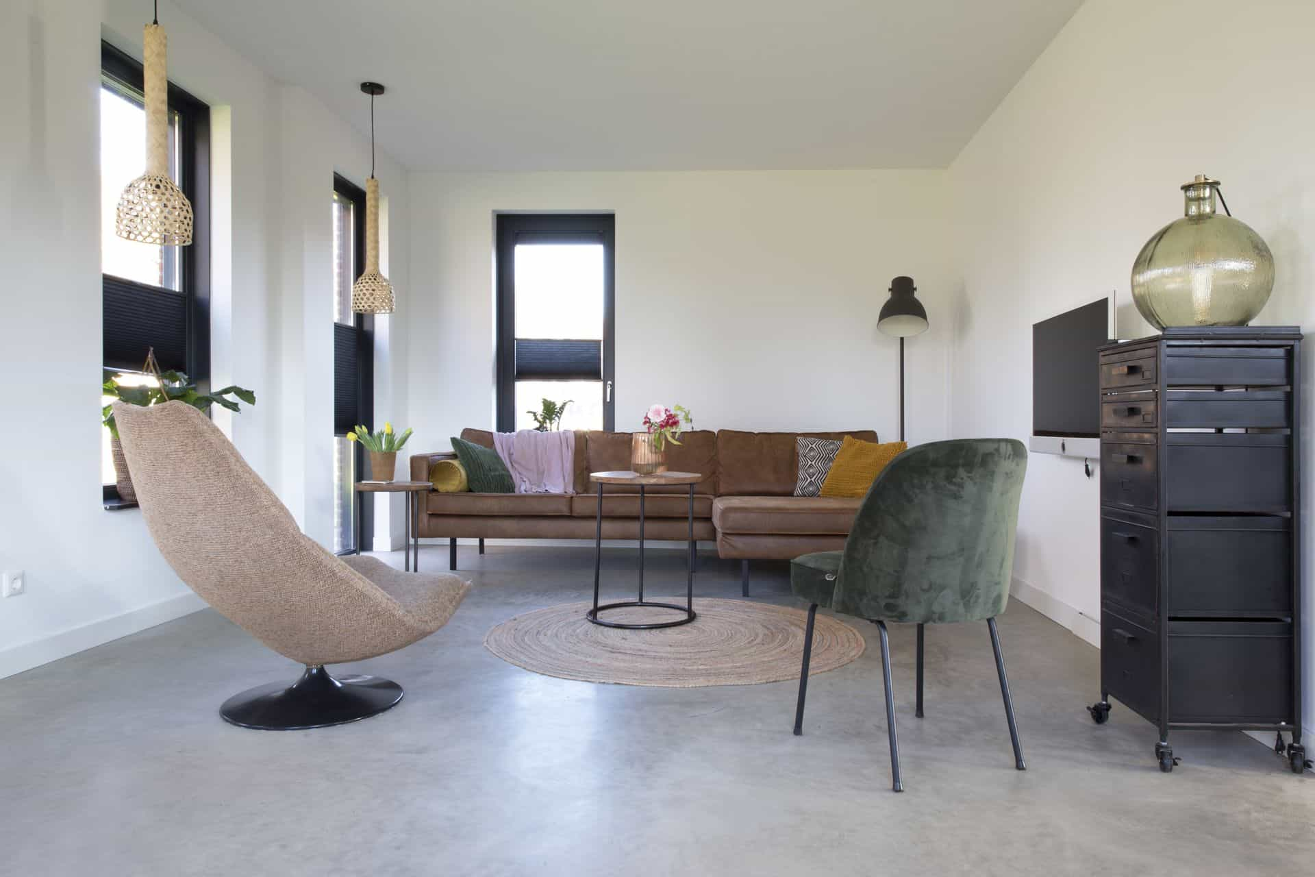 gevlinderde betonvloeren, gepolierde beton onderhoud