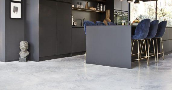 monolitisch afgewerkte betonvloer
