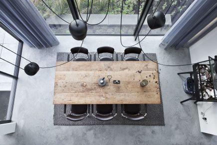 Gevlinderde woonbeton vloer in Huizen