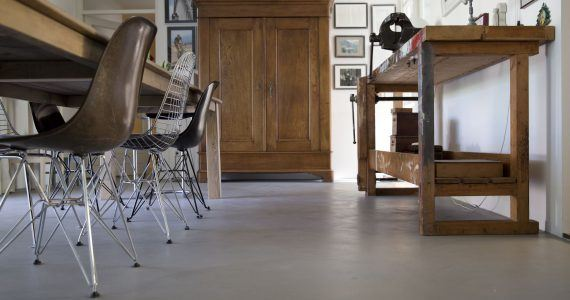 Beton Cire vloer, betonlook vloer