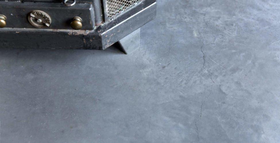 Scheuren betonvloer