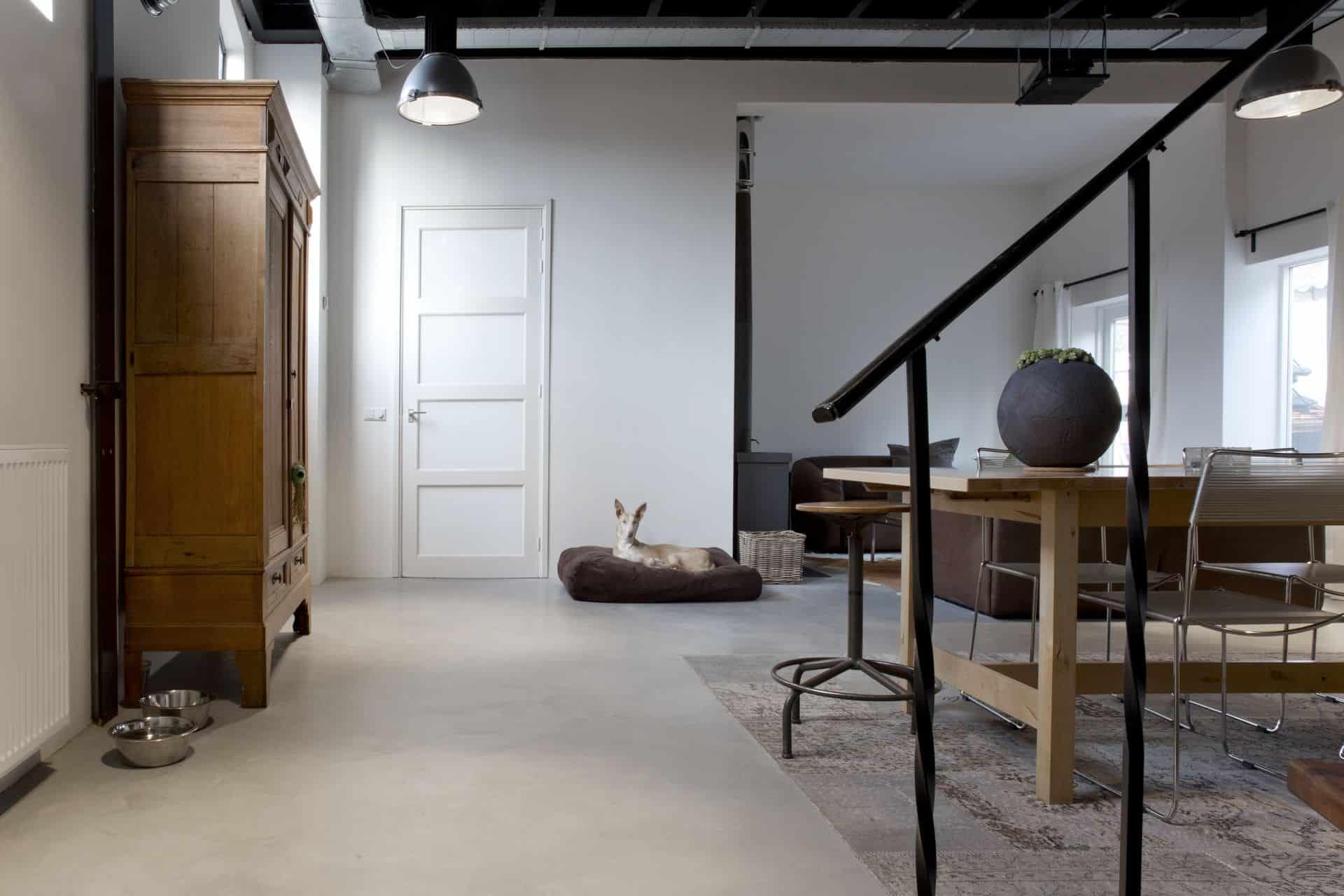 Gevlinderde woonbeton vloeren