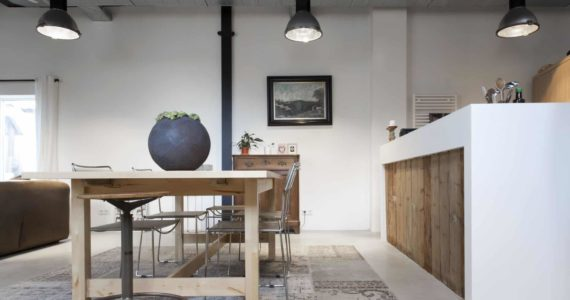 design betonvloer, gevlinderd beton, gevlinderde betonvloer