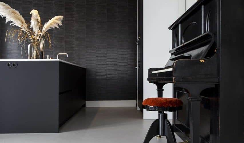 Beton ciré vloer keuken, beton ciré keuken, beton cire keuken, betonlook keuken
