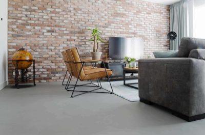 Onderhoud beton ciré vloer- en wand
