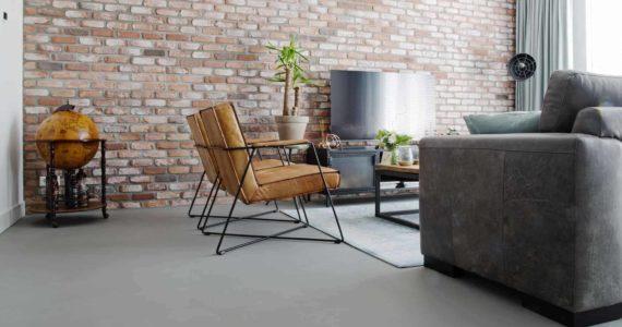 betonlook vloer woonkamer