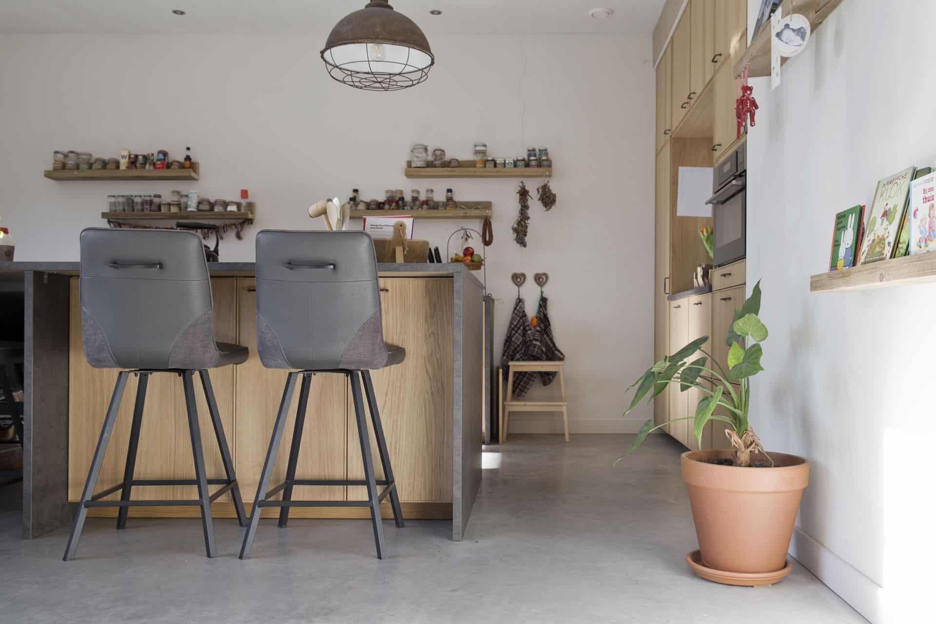 beton vlinderen, gepolierde betonvloer, gepolierd beton