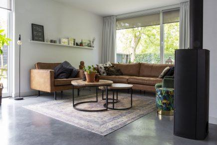 Gevlinderde woonbeton vloer in Arnhem