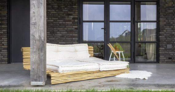 Gevlinderd betonnen terras Willem Designvloeren