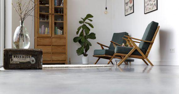 Betonnen Vloer Prijs : Willem designvloeren woonbeton