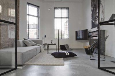 Onderhoud gevlinderde woonbetonvloer