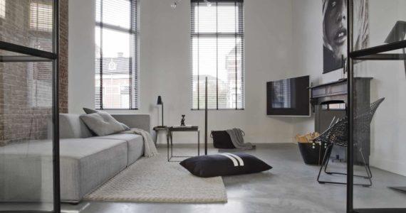 betonvloer huiskamer